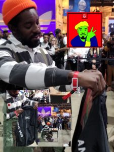 Andre 3000 Rocks Pop Culture Clothing during complexcon