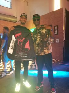 Swizz Beatz endorses Pop Culture Clothing during Art Basel