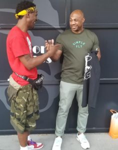 "Kareem ""Biggs"" Burke Jay z Long time business partner endorses KingPop Redo96 concept design"